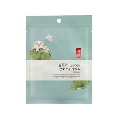 [ILLIYOON] Lotus Hydrating Mask / Korean Cosmetics