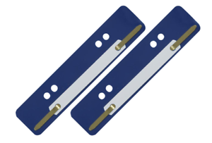 500 Stück Aktendulli Kösterstreifen Heftstreifen kurz 3,5x15 cm DIN A4+A5 d/'blau