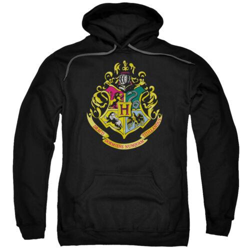 Harry Potter HOGWARTS CREST Licensed Adult Sweatshirt Hoodie