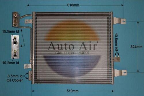 Auto Air Condenseur 16-1405 Fit avec Jeep Wrangler