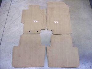 Genuine Oem 2004 Acura Tl Light Tan Carpet Floor Mats Ebay