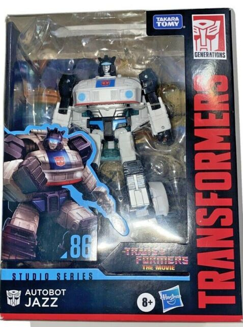 Hasbro Takara Tomy Transformers Studio Series Deluxe Class #86-01 Jazz New