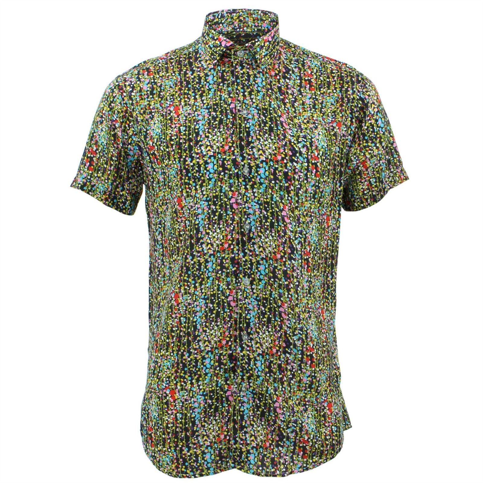 Herren Shirt Loud Originals Originals Originals Enganliegend Ditzy Retro Psychedelic Fancy | Förderung  | Offizielle Webseite  | Stil  f545eb
