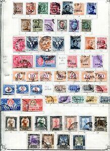 ITALIENISCH LIBYEN 1912-1920 gestempelte SCHÖNE ALTSAMMLUNG (58007c
