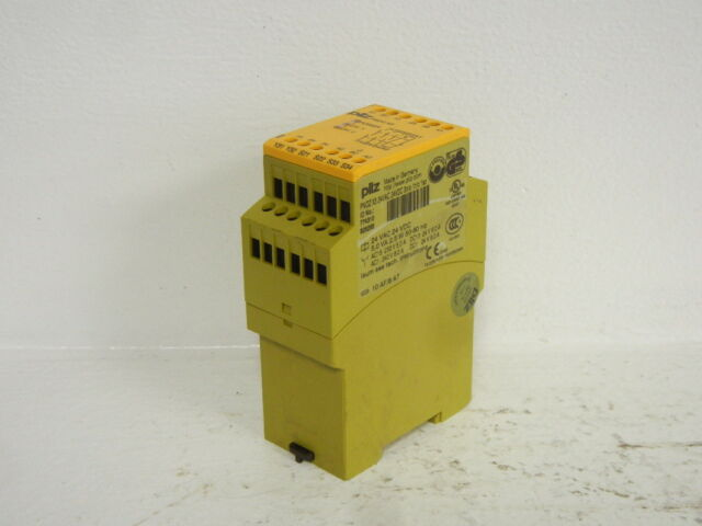 PILZ 774310 USED PNOZ X3 SAFETY RELAY 24VAC 24VDC 774310