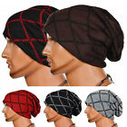 Wholesale Men Knit Winter Warm Ski Baggy Crochet Slouch Hat Cap Oversized Beanie