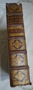 1693 Mémoires pour servir a l'histoire  Ecclésiastique Tome 1 Charles Robustel