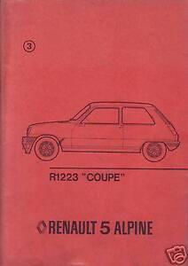 Manuale-Riparazione-R1223-034-COUPE-034-Reanult-5-ALPINE