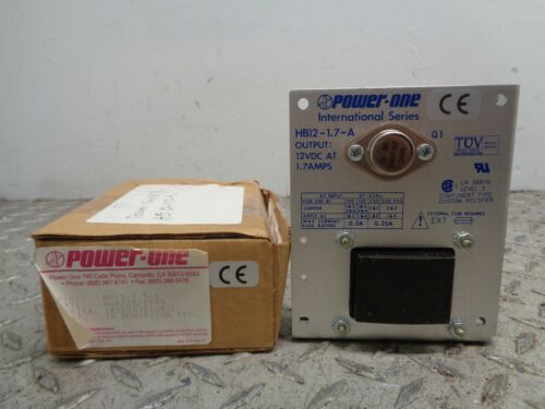 POWER-ONE POWER SUPPLY (PART NO. HB12-1.7-A)