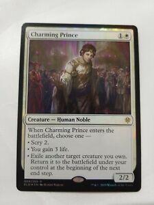 MTG FOIL Charming Prince English, Throne of Eldraine, Free P/&P