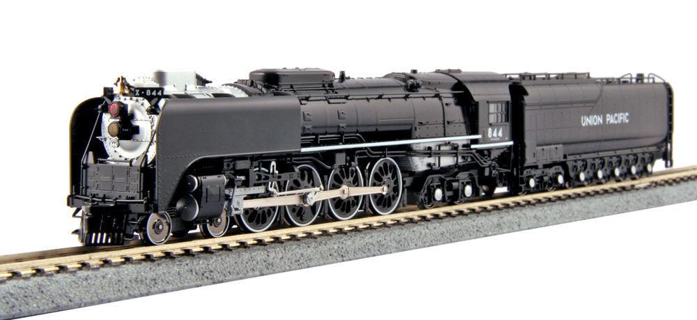 Kato 1260401 N escala FEF-3 4-8-4 Vapor Loco Nº w tierno Union Pacific 844 126-0401