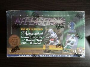 1996-Score-Board-NFL-Lasers-Football-Box-24-Packs-Factory-Sealed-Very-Rare