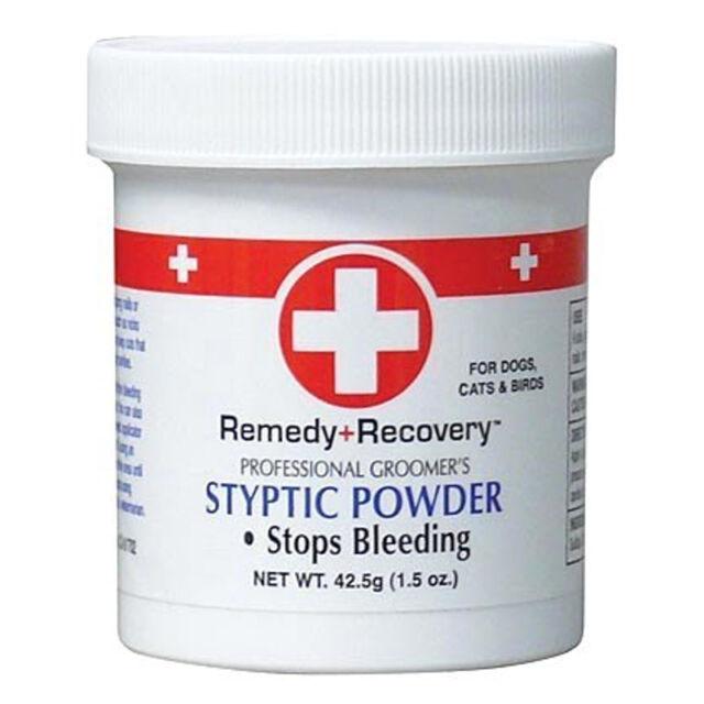 Remedy Recovery 1.5 Oz Styptic Powder Fast Quick Stop Dog Cat Bird ...