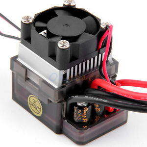 how to connect esc to brushed motor