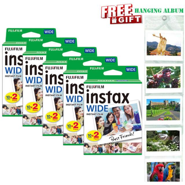 Fujifilm Instax Mini Film 5x20 films 100 fotos