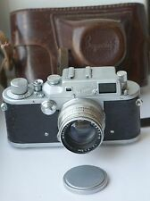 1955! ZORKI-3 Russian Leica III Copy Camera Jupiter-8 2/50 lens
