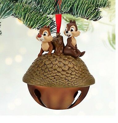 Disney Chip an' Dale  Christmas Tree Nutt Ornament  (new with tag) 2013