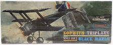 AVIAZIONE: SOPWITH è stato ampiamente utilizzato Maria NERO KIT MODELLO realizzati nel 1963 da Aurora (DA)