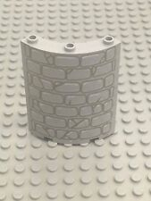 LEGO Cylinder Quarter 4 x 4 x 6 with Stone Wall Pattern 30562px1