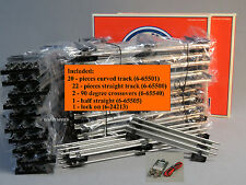 LIONEL O GAUGE DELUXE TRACK PACK train 3 rail set metal curve 6-22969 NEW BULK