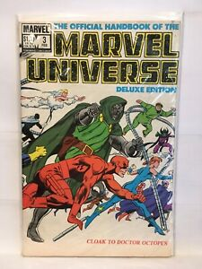 Official-Handbook-Marvel-Universe-Deluxe-Edition-3-FN-VF-1st-Print