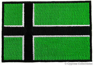 VINLAND-FLAG-iron-on-PATCH-TYPE-O-NEGATIVE-VIKING-NEW-embroidered-NORWAY-HISTORY