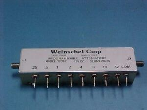 WEINSCHEL-3200-2-RELAY-SWITCHED-PROGRAMMABLE-ATTENUATOR