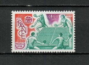 s25212-FRANCE-1977-MNH-Table-tennis-1v-ping-pong