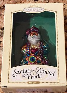 Hallmark 2004 Santas from Around the World Mexico Christmas Tree Ornament 15012826593 | eBay