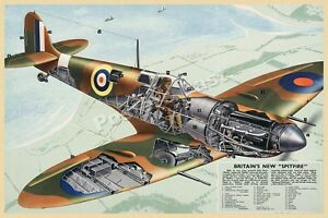 who designed the spitfire fighter plane