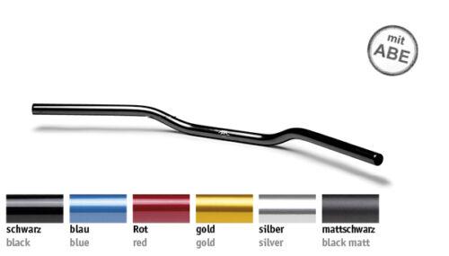 122an01 in 6 colori alluminio 22 mm tipo an1 LSL Superbike FLAT manubrio piatto