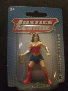 """Justice League Wonder Woman Mini Figure 2.5/"""" Cake Topper DC Comic Mattel *YT"""