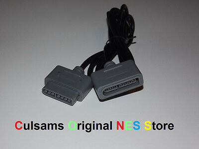 New 6 ft. Extension Cable for your Super Nintendo SNES Controller