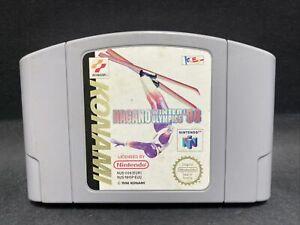 N64 Nintendo 64 Juego-Nagano Juegos Olímpicos de Invierno 98-PAL