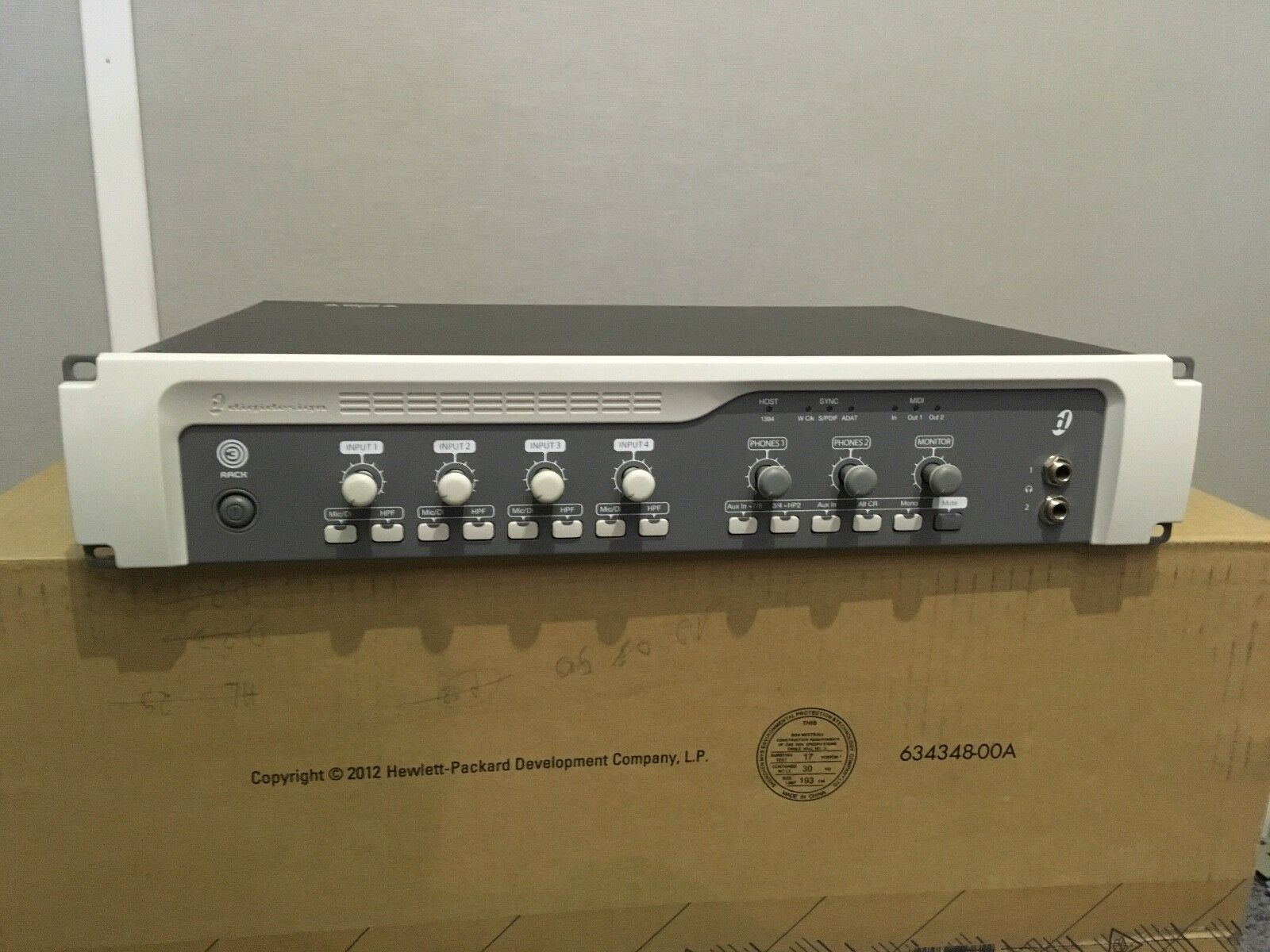 Digidesign 003, Pro Sound Card.