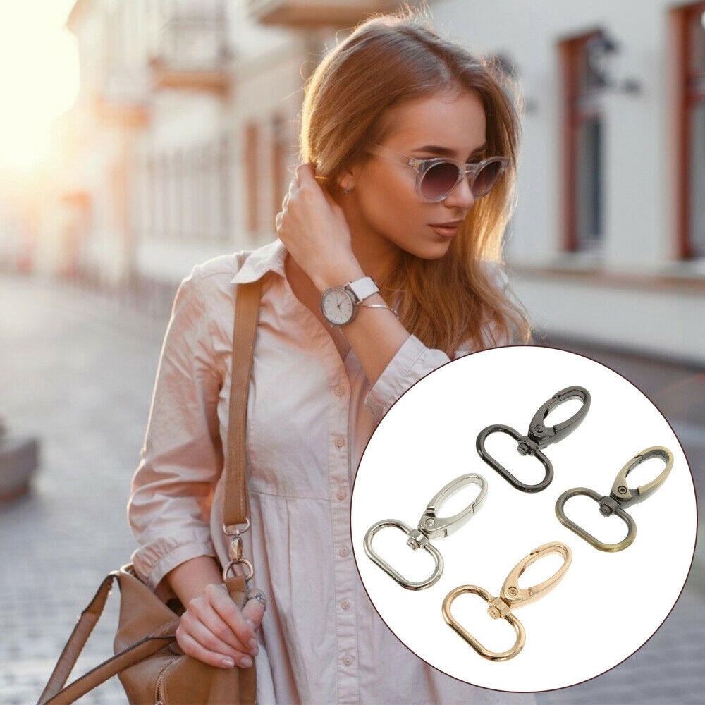 20pcs Snap Hooks Alloy Multifunctional Creative Key Ring Lobster Clasp