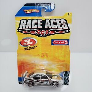 Rare-Hot-Wheels-Race-Aces-Subaru-Impreza-Chrome-Target-Exclusive