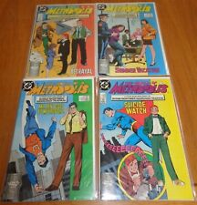 SUPERMAN WORLD OF METROPOLIS 1-4 NEAR MINT SET 1988