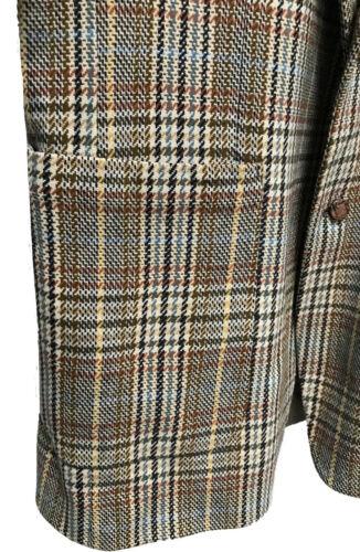 années Tweed 44 Hipster des Veste Sportcoat 70 Blazer Vtg Blacker De Stanley Coloré Hommes 68OSHO5qxw