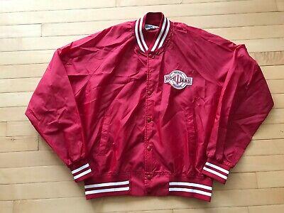 Vintage 1990/'s Indiana Hoosiers College Sportswear Medium Nylon Satin Bomber Jacket Retro Hip Hop Streetwear Made In Indiana Hoosiers Coat