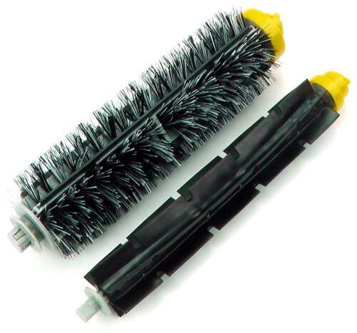 KIT COMPLETO ROOMBA 681 2 limpiadores. 3 filtros 1 pack rodillos 3 cepillos