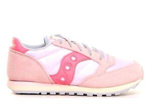 Saucony-Jazz-SK162482-Rosa-Sneakers-Donna-Bambini-Scarpa-Casual-Sportiva