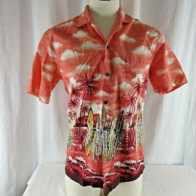 Kys Vintage Airplane Plane Aircraft Mens Hawaiian Shirt