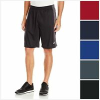 Two Pairs of Adidas Mens Aero Knit Climacool Shorts (Multi Colors)