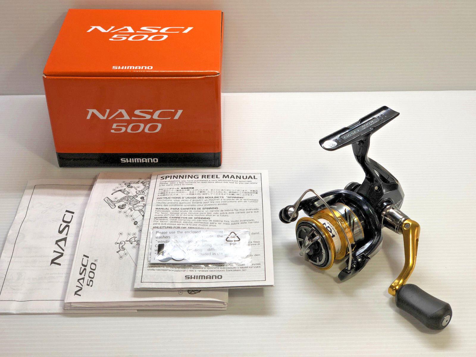 Shimano 18 Nasci 500-Envío gratuito desde Japón