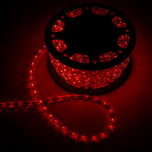 150ft 110v led rope light party christmas home outdoor decor xmas image is loading 150ft 110v led rope light party christmas home aloadofball Gallery