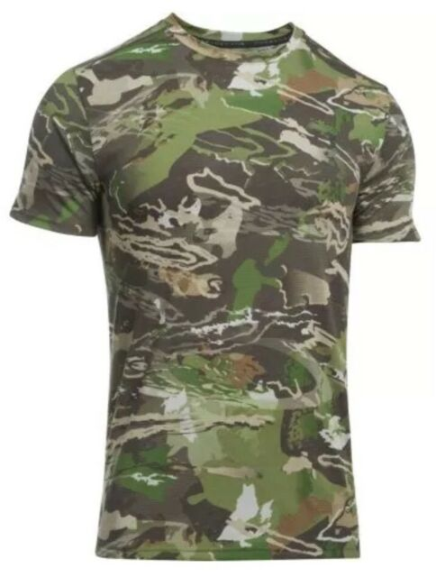 73b455ad37bf3 $40 Under Armour Camo Early Season Men's Sz LARGE Hunting S/S Shirt 1298961-