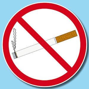 2019 Nouveau Style 50 Autocollant 15 Cm Sticker Interdit De Fumer Non Fumeur Interdiction De Fumer Warn Bouclier-afficher Le Titre D'origine