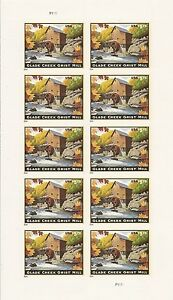 US 4927 Priority Mail Glade Creek Grist Mill $5.75 sheet MNH 2014