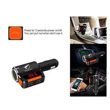 Car MP3 Music Player Audio FM Transmitter Modulator Wireless Handsfree Bluetooth